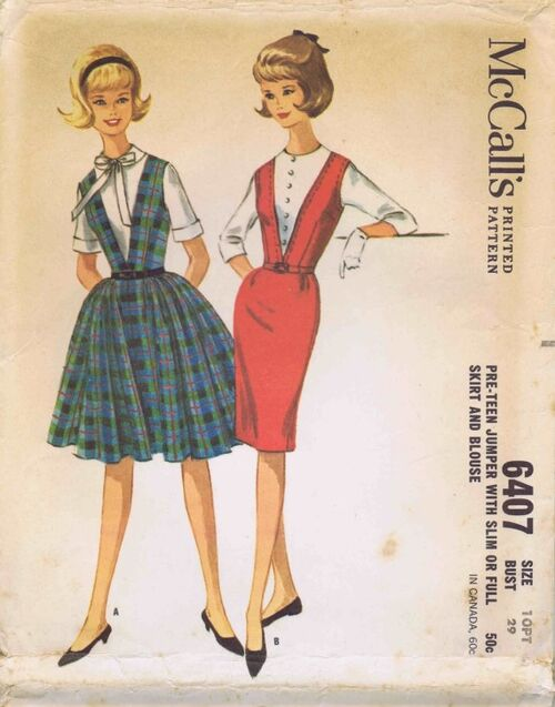 McCalls 1962 6407