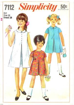 Simplicity 1967 7112
