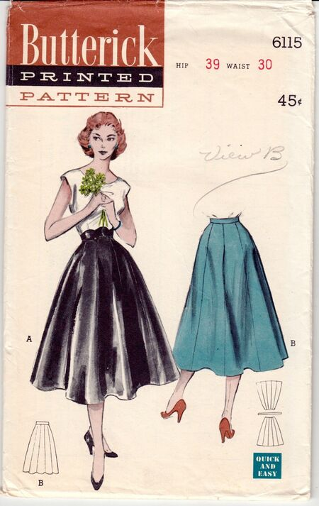 Butterick 6115 cover