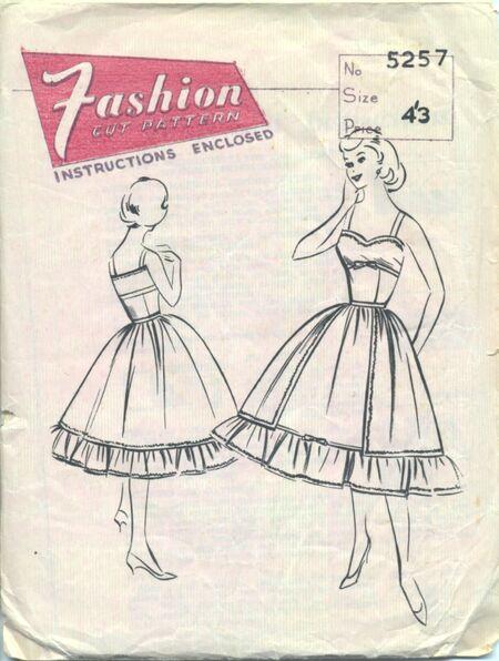 FashionCutPattern5257