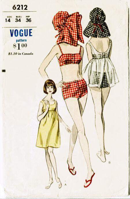 Front Vogue 6212
