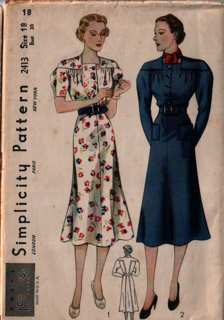 Simplicity 2413 front