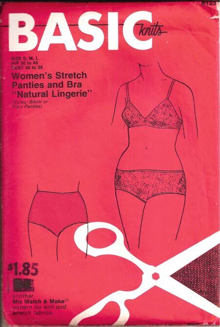 Bk123 panties bra f