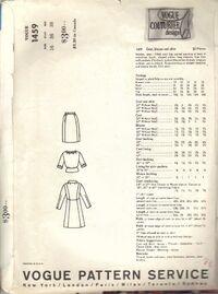 Vogue Couturier Design 1459back