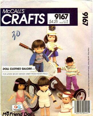 McCalls 1984 9167