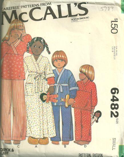 McCalls 6482
