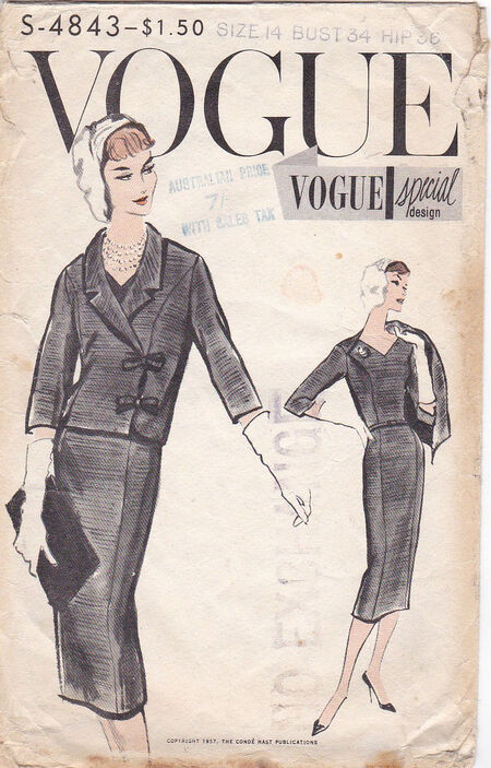 Pattern - Vogue 4843 02
