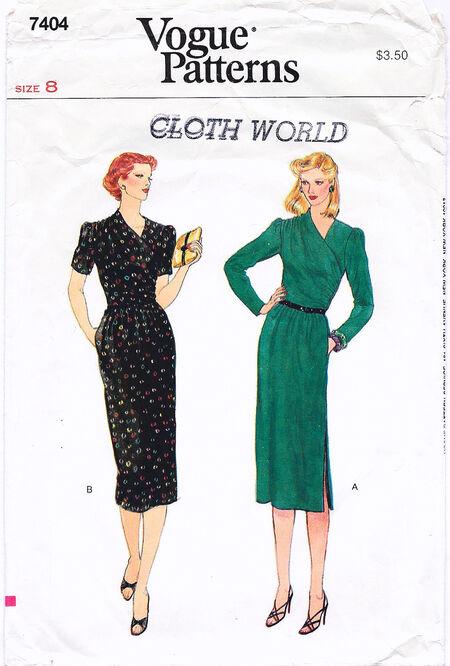 1970 Cross Front Dress