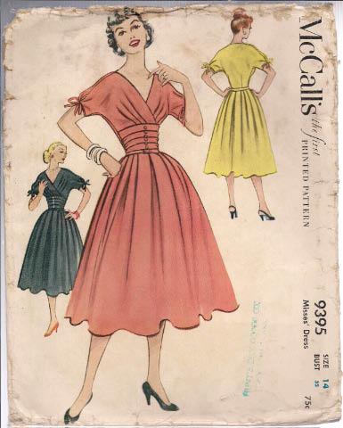McCalls - 9395 Misses Dress