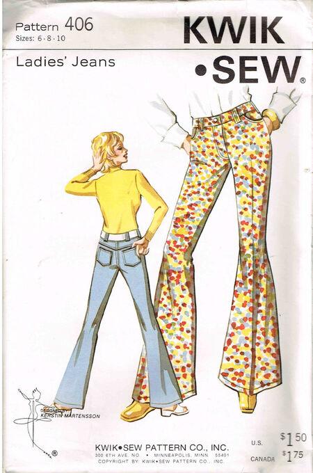 Kwik Sew 406 Jeans