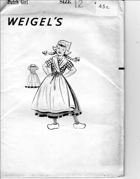 Weigels children dutch girl
