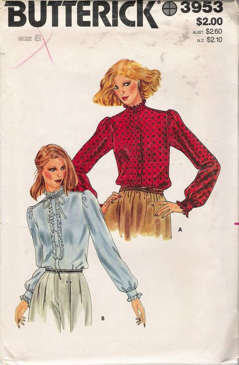 Butterick 3953 A image
