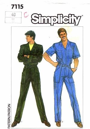 Simplicity 1985 7115