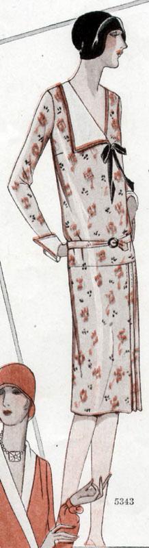 McCall 5343 1928 B