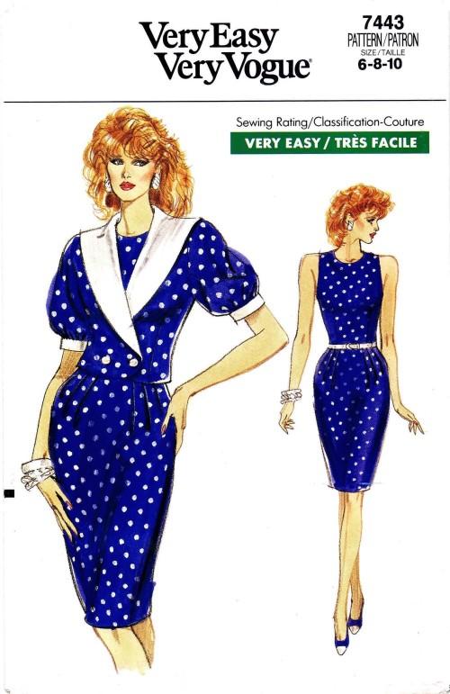 Vogue 1989 7443