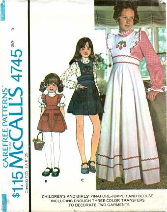 McCalls 4745 A