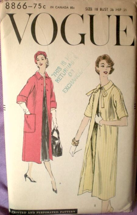 Vogue 8866 image
