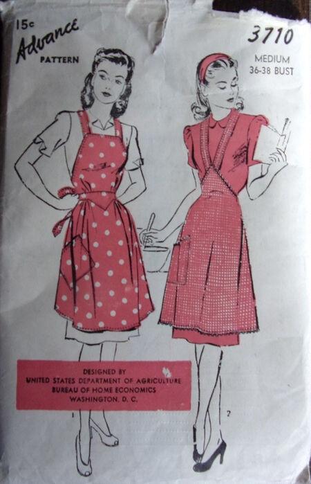 Advance 3710 - Bias Apron (a) & Skirt Apron