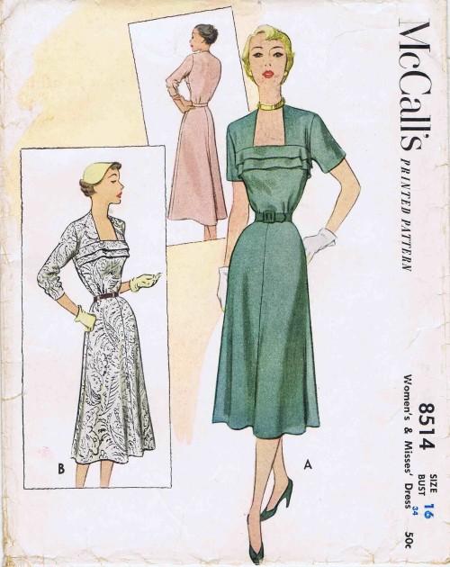 McCalls 1951 8514
