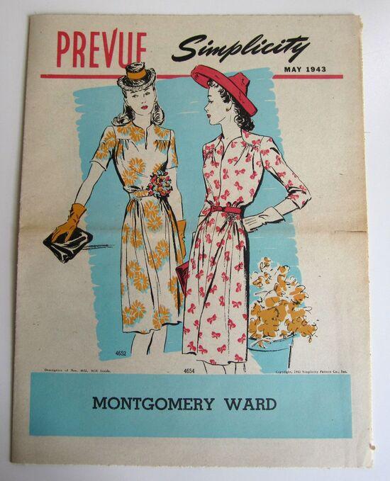 Simplicity Prevue May 1943