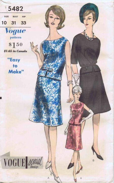 Vogue 1962 5482