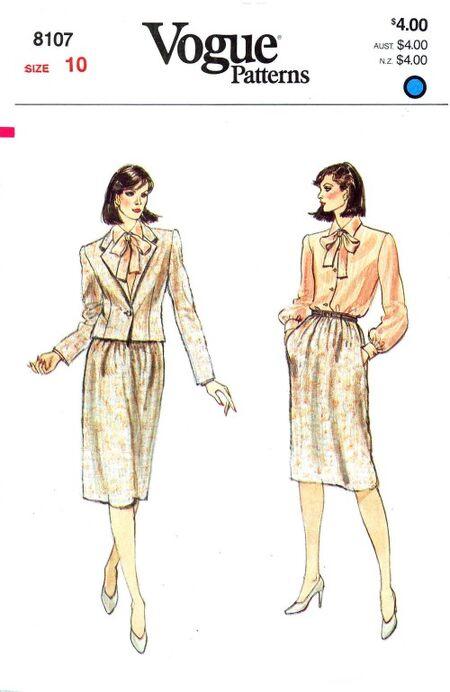 Vogue 1982 8107