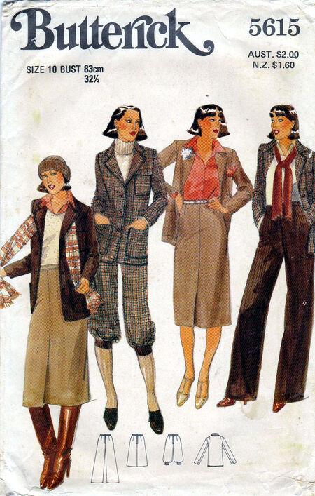 Pattern - Butterick 5615