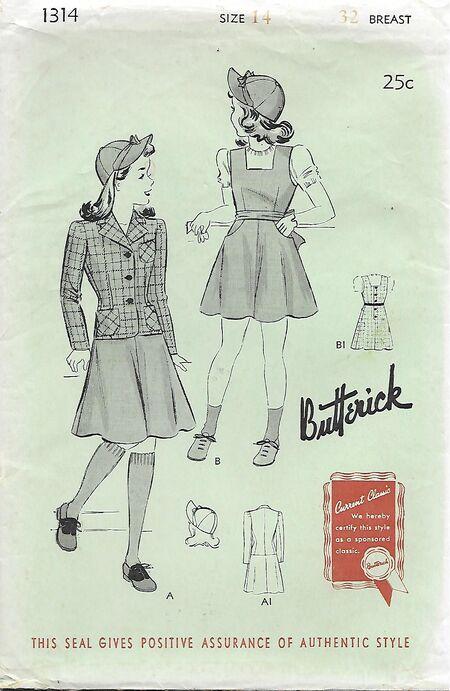 B1314girls14,1940