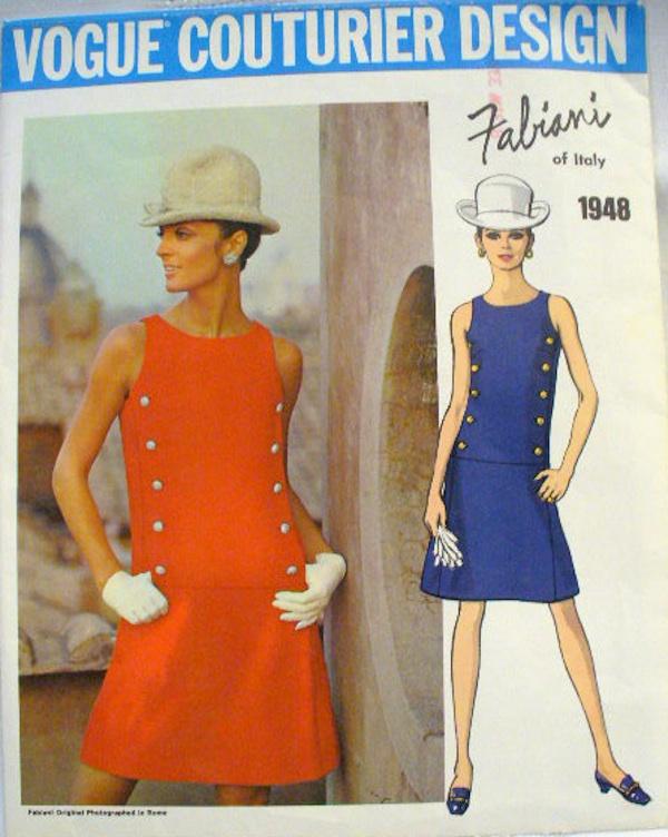 Vogue Couturier Design Fabiani Dress