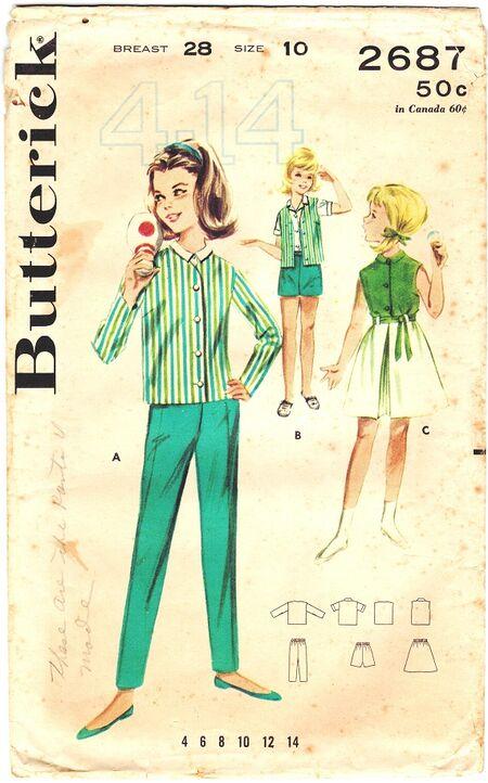 Butterick 2687 570