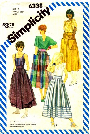 Simplicity 1983 6338