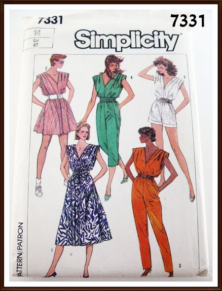 SIMPLICITY Pattern 7331 FRONT