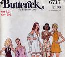 Butterick 6717 A