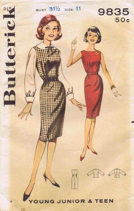 Butterick 1961 9835
