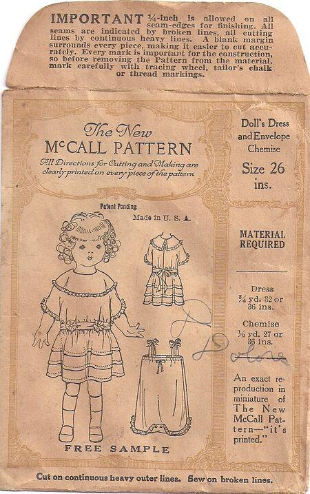 McCall Doll C