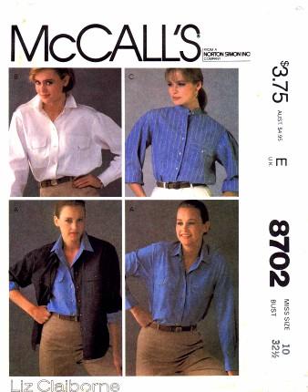 McCalls 1983 8702