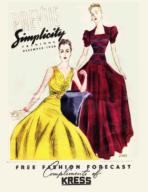 Simplicity Prevue December 1938