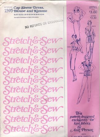Stretch & Sew 1595 image