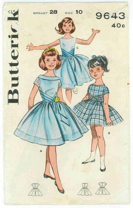 Butterick 9643