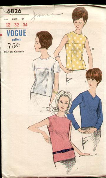 Vogue 6826 60s a