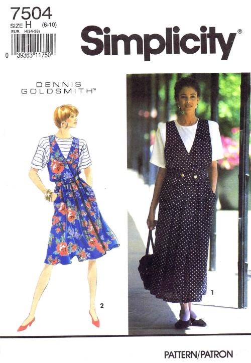 Simplicity 1991 7504