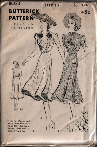 Butterick 8023 front