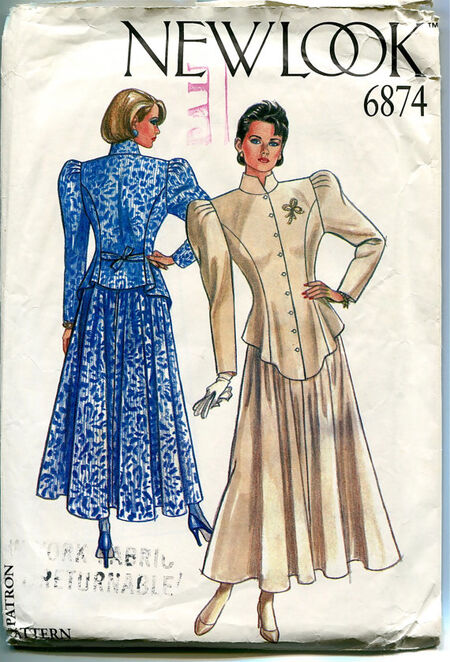 New Look 6874 Sewing Pattern At Design Rewind Fashions on Etsy