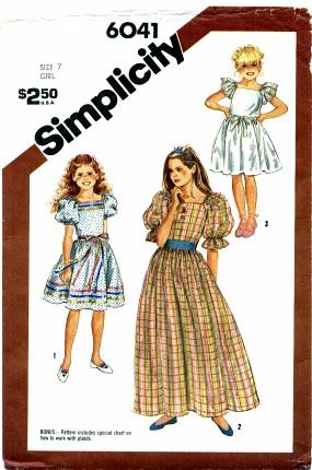Simplicity 6041
