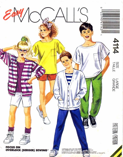 McCalls 1989 4114