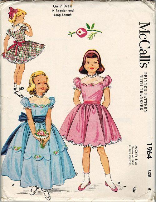 McCall's 1964 50s CH G