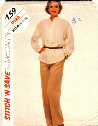 McCalls 1984 9193