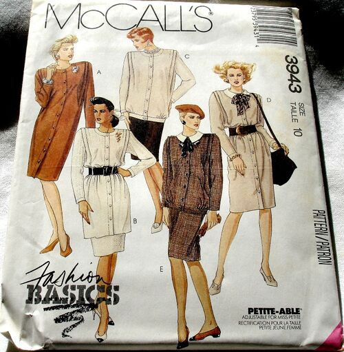 McCalls 3943 -001