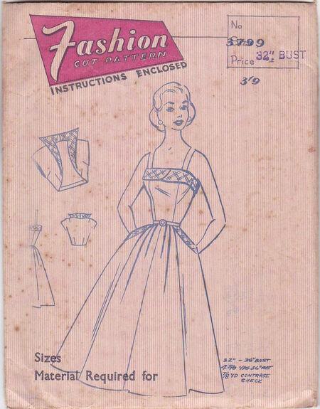 Pattern - Fashion Cut 3799 03
