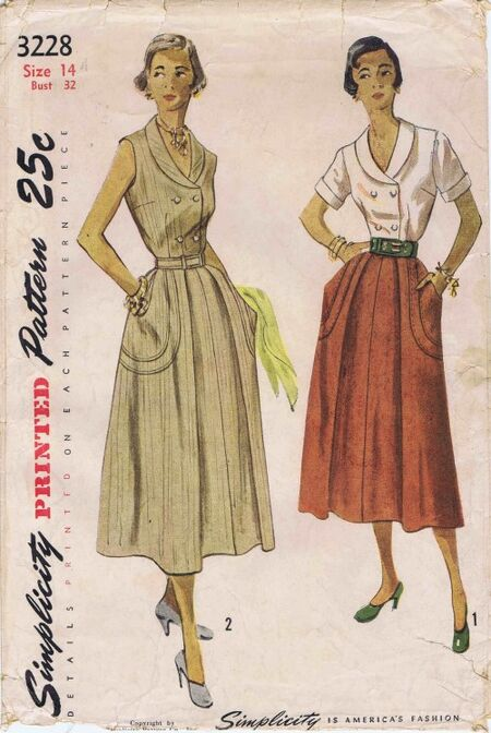 Simplicity 1950 3228